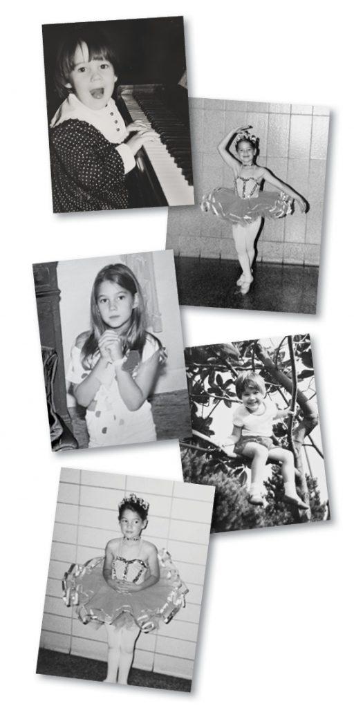Childhood Photos - Monica